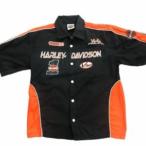 Harley-Davidson Snap up Front Short Sleeve Shirt